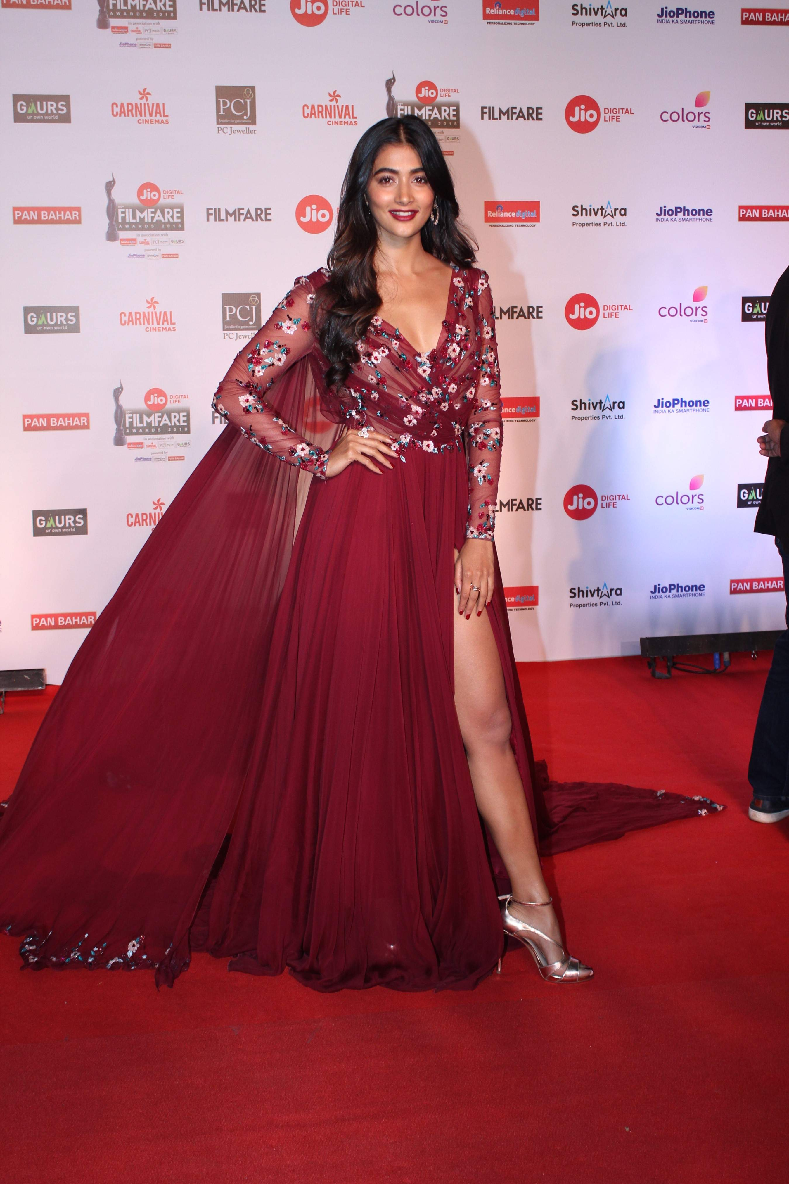 who wore what at the filmfare awards